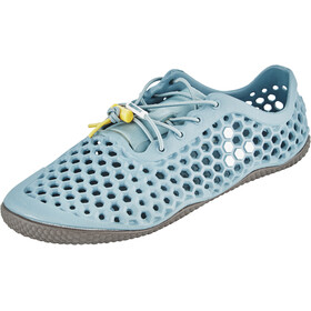 Vivobarefoot Ultra 3 Bloom Shoes Dame finisterre lead light blue vap grey